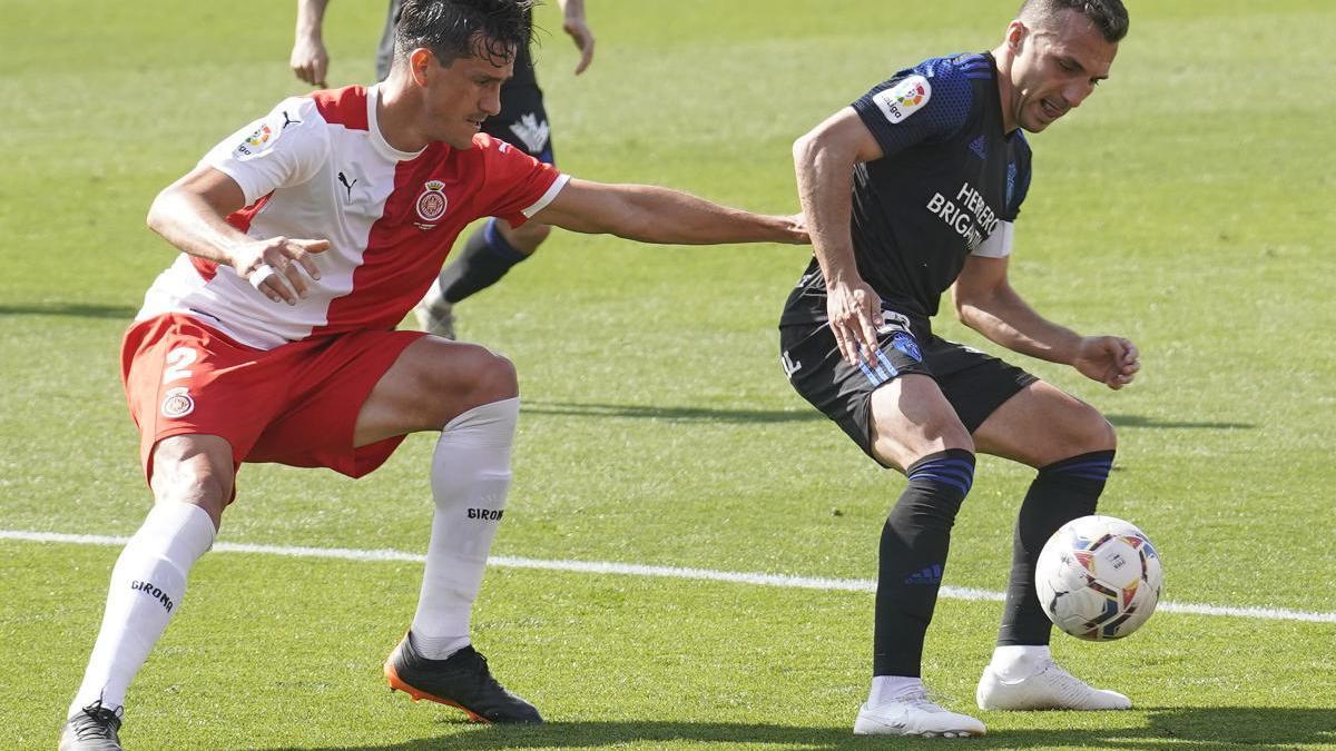 Bernardo va forçar pel partit contra el Ponferradina.