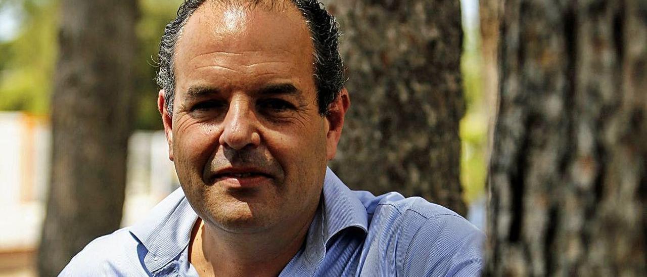 Carlos Baño, presidente de Alicante Gastronómica Solidaria, ayer.