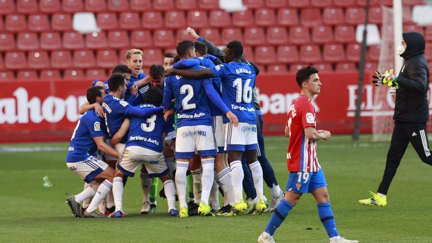 En la élite de la rivalidad: el Oviedo supera las cifras del Athletic y el Celta en sus respectivos derbis