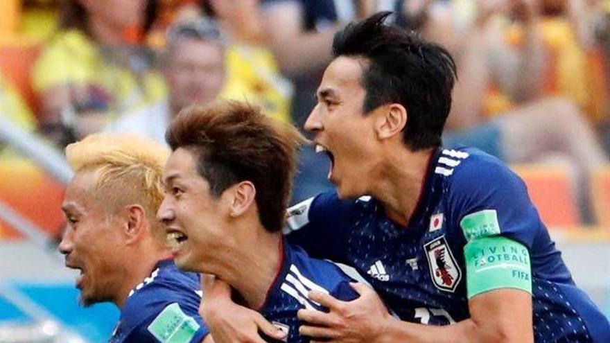 Japón mete en un lío a Colombia (1-2)
