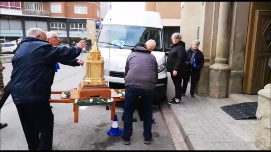 Les relíquies de santa Bernardeta ja són a Manresa