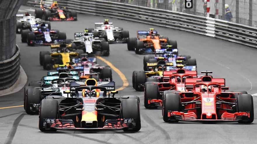 Ricciardo gana en Mónaco por delante de Vettel y Hamilton