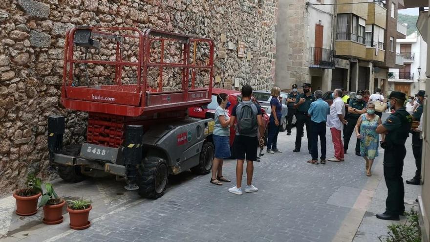La UJI avala conservar la fachada de la iglesia de Artana