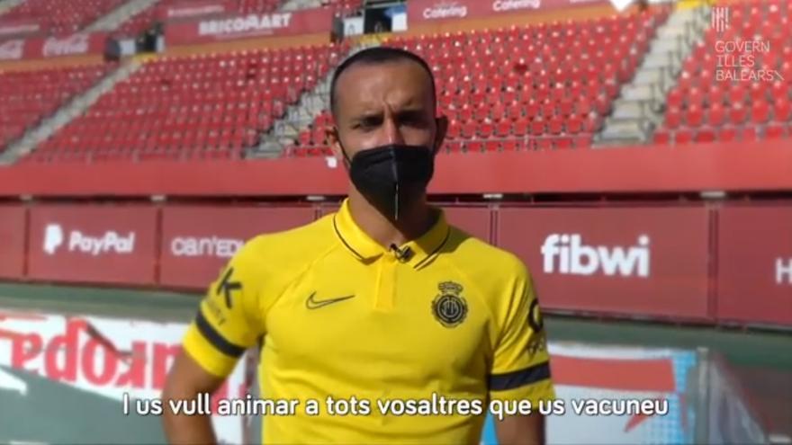 Los jugadores del Mallorca apoyan la vacunación contra la covid