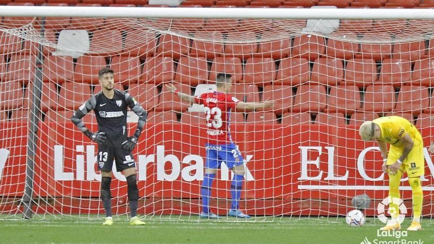 Resumen de las principales jugadas del Sporting - Málaga CF