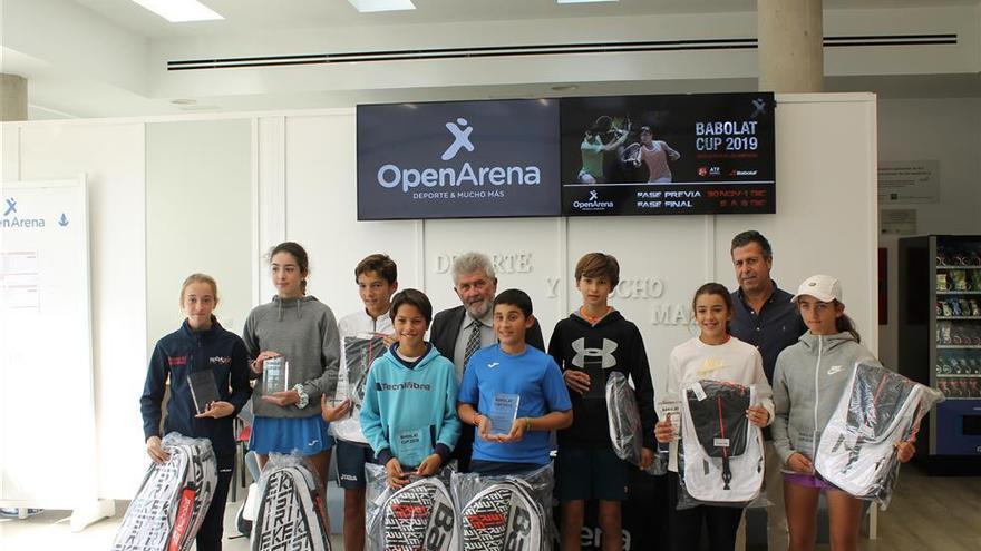 Alejandro López gana el título infantil en Open Arena
