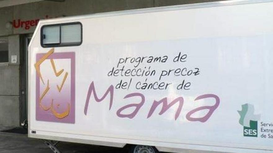 Más de 8.200 extremeñas están citadas a las mamografías del Programa de Detección Precoz del Cáncer de Mama