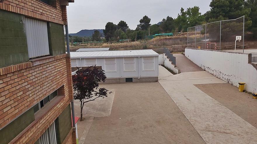 La manca de notícies sobre l'edifici nou genera inquietud a l'institut Sis de Manresa