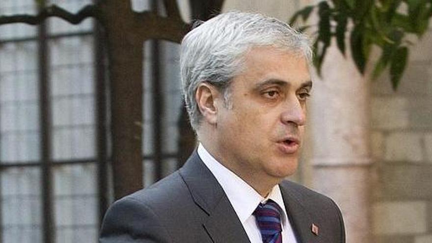 Suspenden la declaración de Gordó en el caso 3% por contacto con un positivo