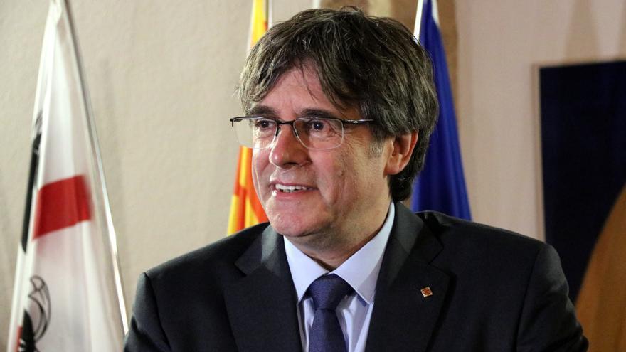 Puigdemont es va reunir a Brussel·les amb el president de la cambra legislativa del Vèneto, de la Lliga Nord