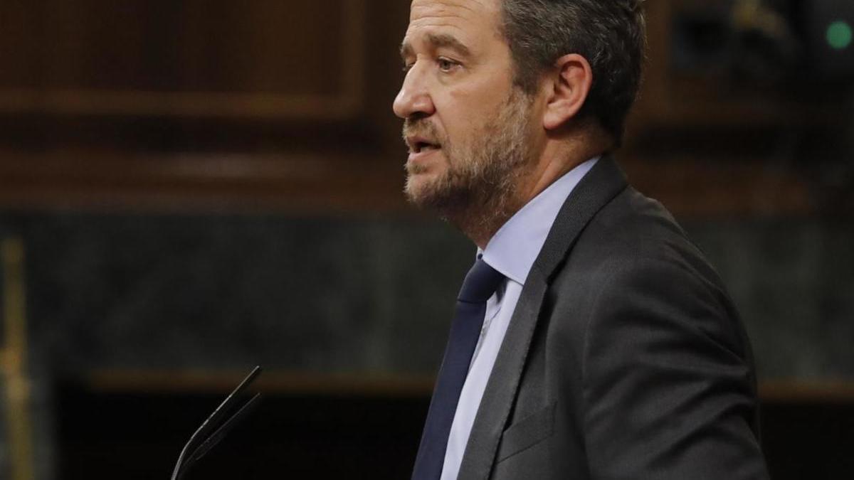 El diputado del PP, Jaime Eduardo de Olano.