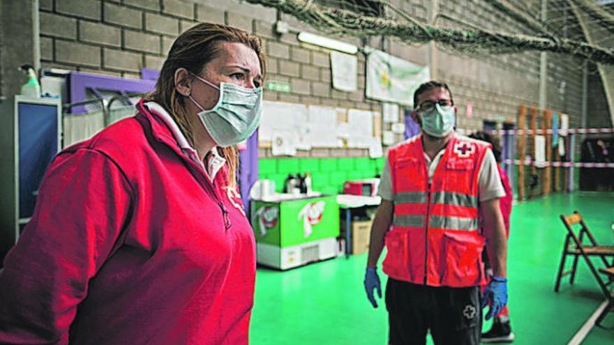 Cruz Roja ayuda en Canarias frente a la Covid a 159.000 personas vulnerables
