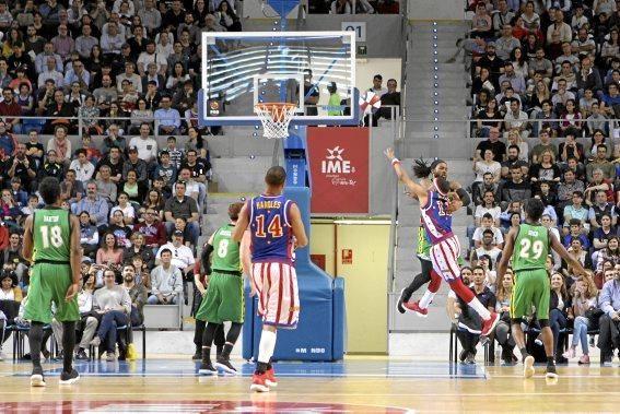 Das nach eigenen Aussagen beste Basketballteam der Welt, die Harlem Globetrotters, kamen nach Palma.