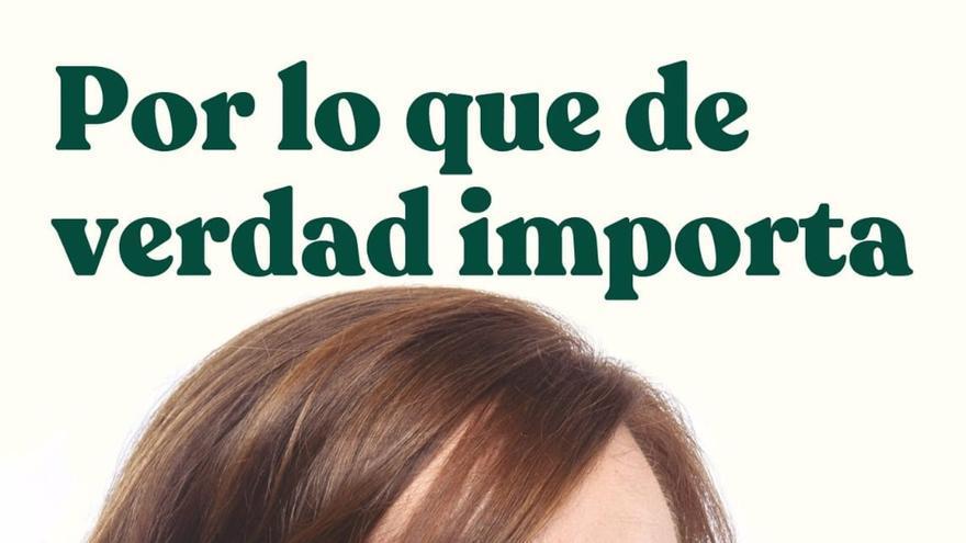 Más Madrid se presenta con el lema 'Por lo que de verdad importa' en un cartel que pone el foco en la mascarilla