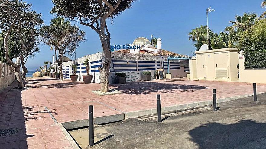 Nueva red de saneamiento para la avenida Cervantes de Las Chapas