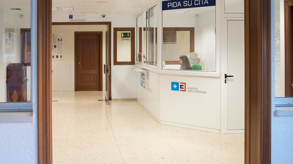 Hospital Juan Cardona. // FdV