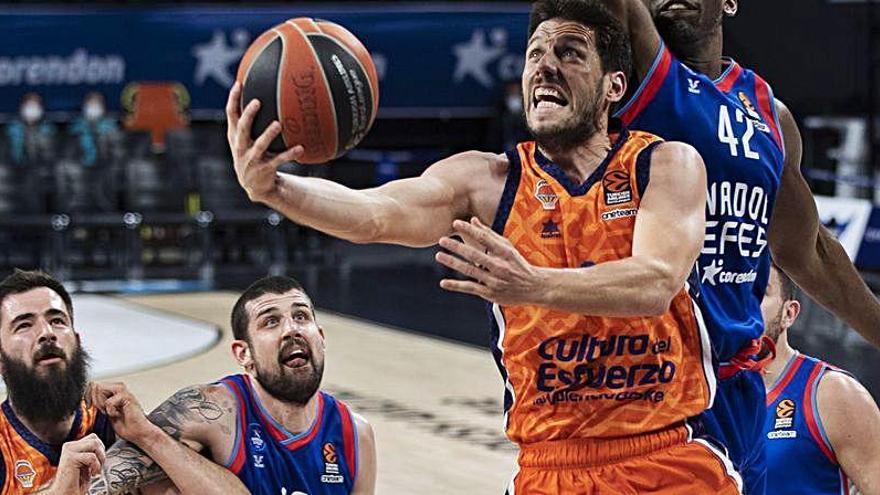 El Valencia Basket ya conoce sus rivales de Eurocup