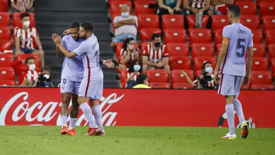 LaLiga Santander: Athletic Club - Barcelona, en imágenes