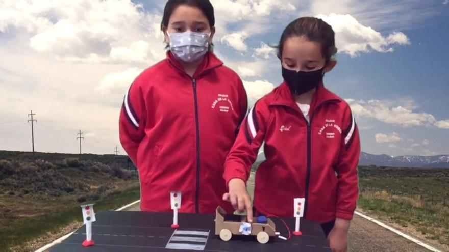 La perfecta ciudad sostenible según los alumnos del colegio Casa de la Virgen de Cangas