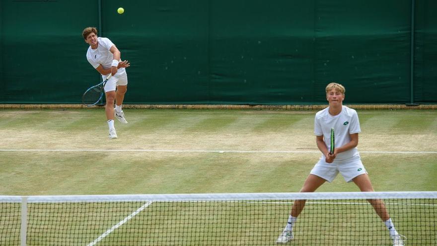 Manzanera y Butvilas, del Montemar, campeones de Wimbledon