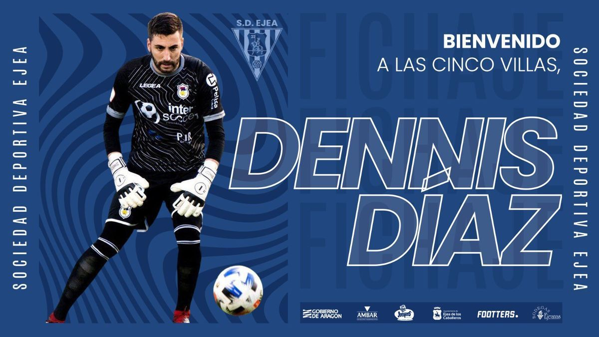 Cartel de presentación de Dennis Díaz