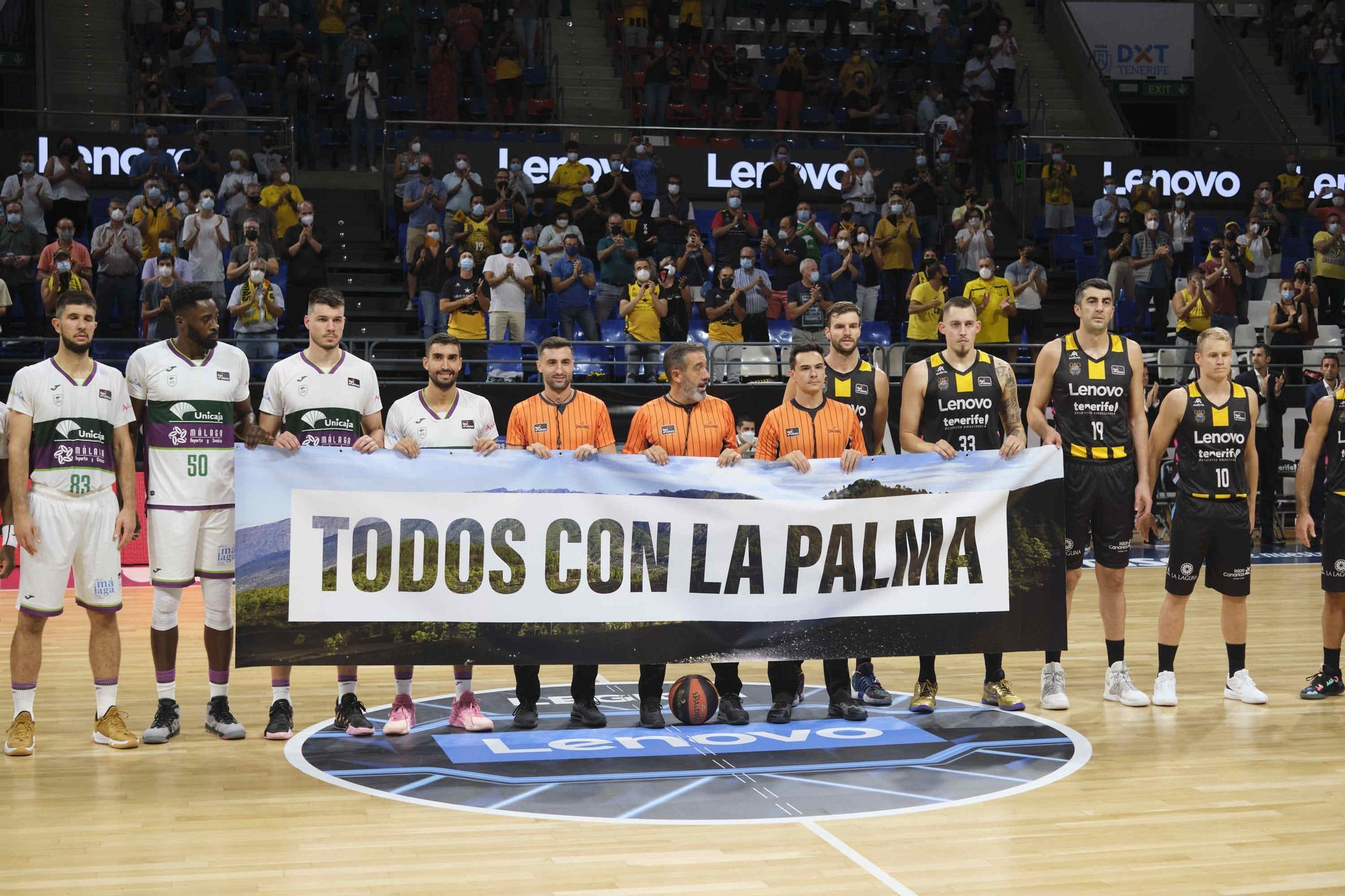 Partido Lenovo Tenerife - Unicaja Málaga