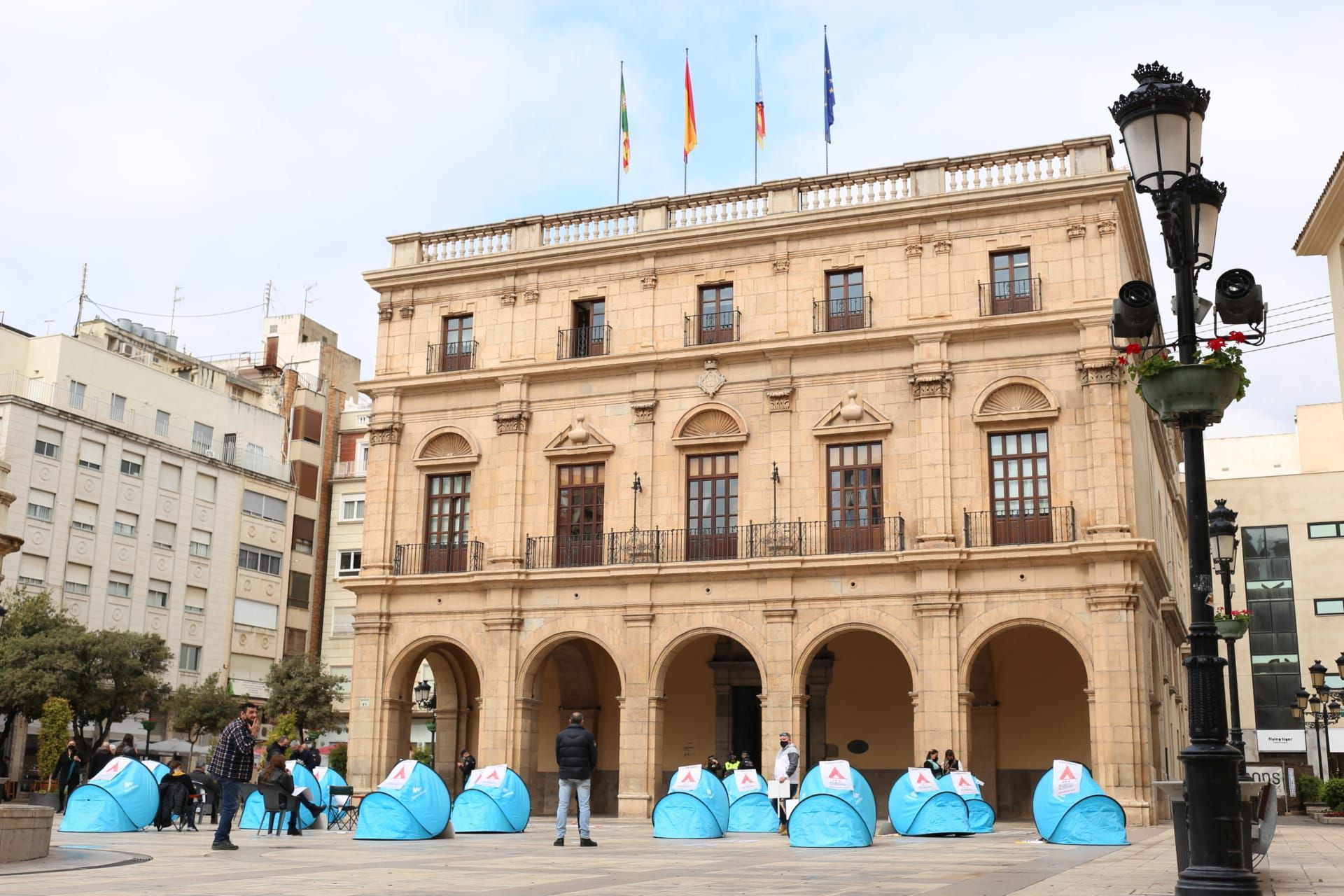 Acampada del ocio de Castelló
