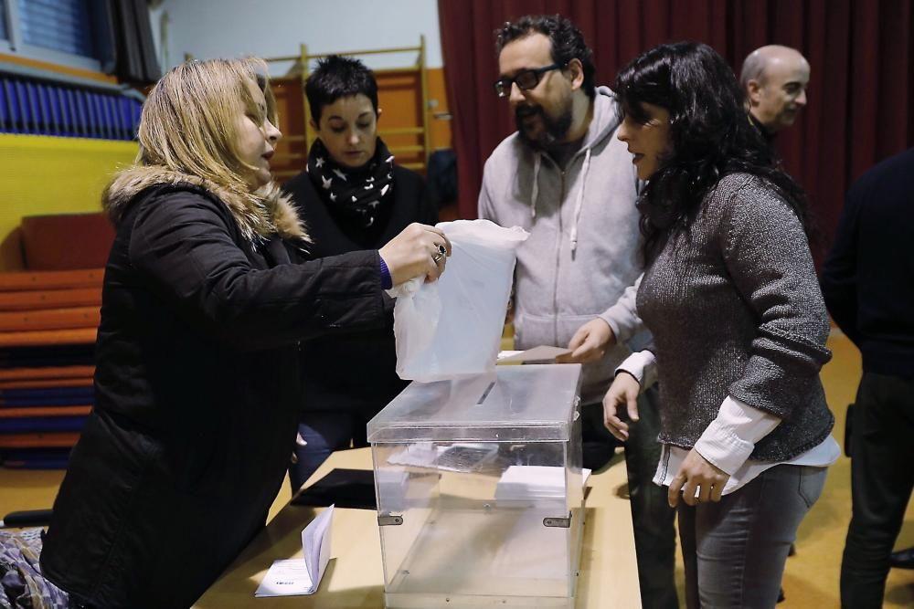 Constitución de mesas electorales