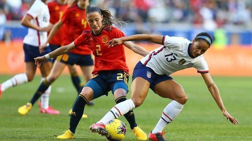 Estados Unidos vence a España y sigue invicta en la SheBelieves Cup