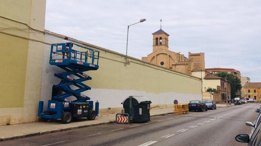 Los vecinos de La Torre se convierten en artistas urbanos