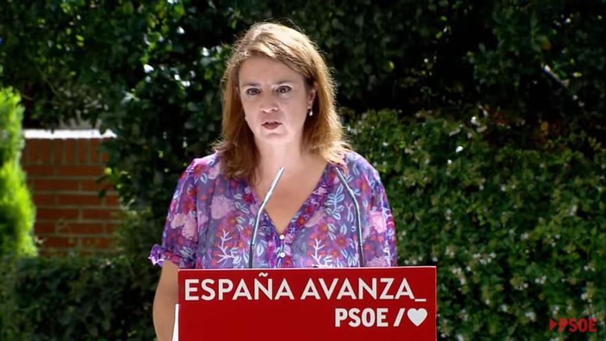 """Adriana Lastra: """"Militar en el PSOE es militar por la esperanza"""""""