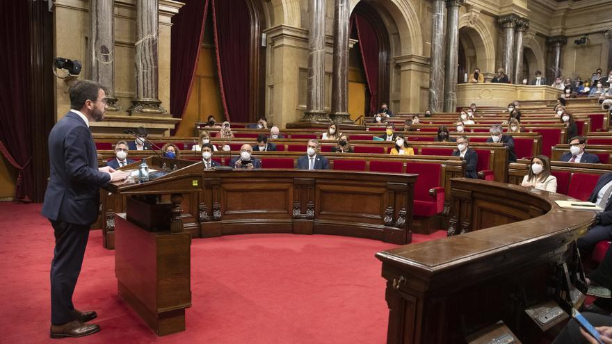 Aragonès, a Illa: «Si creu en el seu projecte polític, atreveixi's a defensar un referèndum»