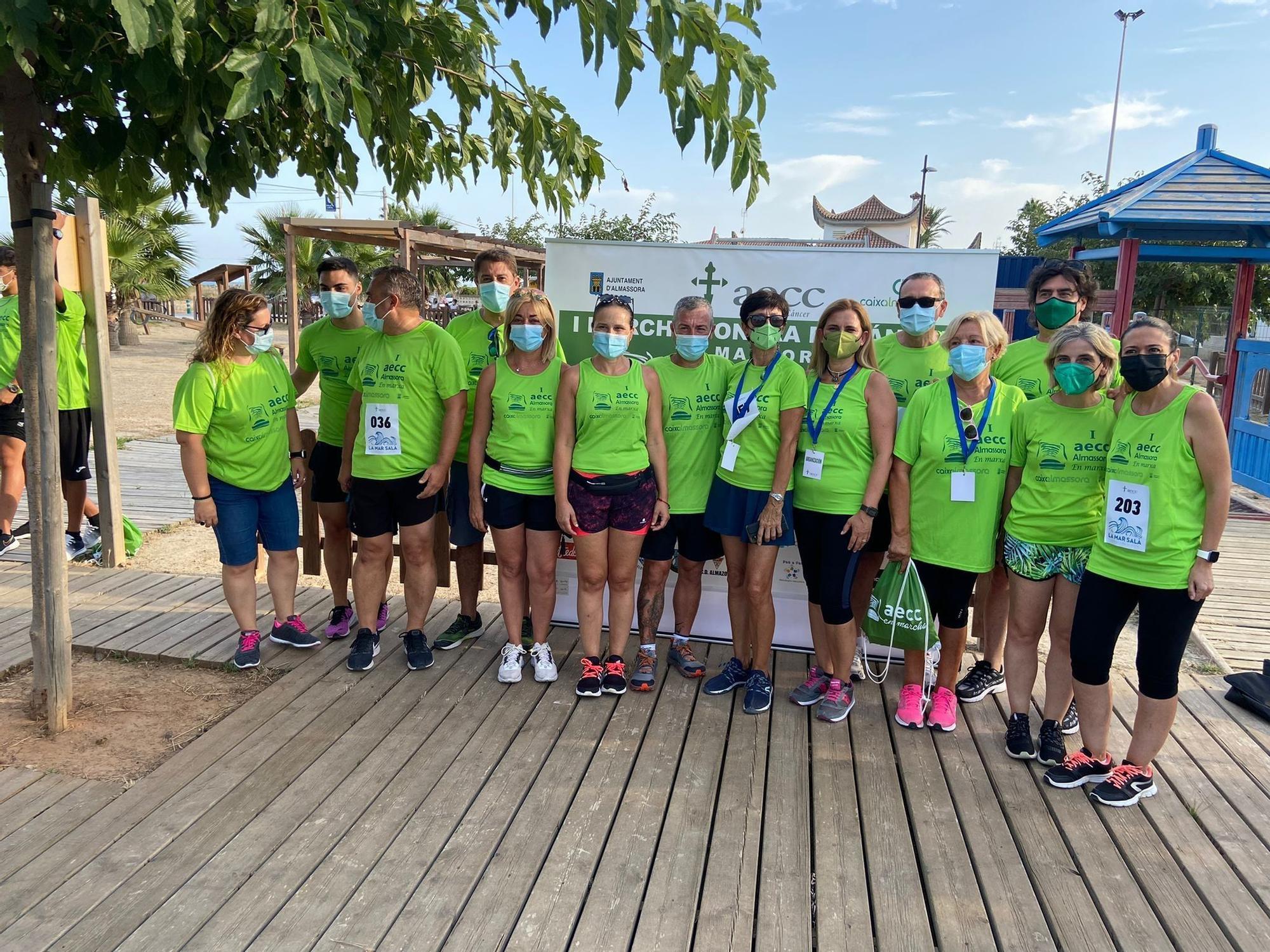 Primera marcha contra el cáncer de Almassora