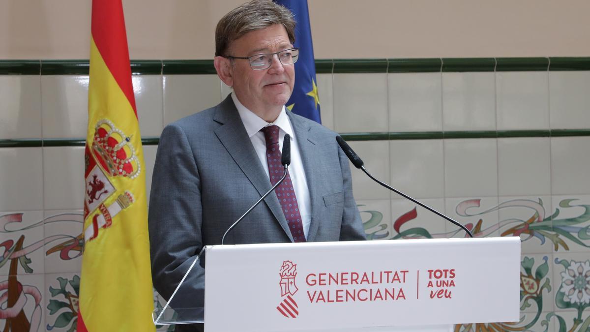 El president de la Generalitat, Ximo Puig, a Castelló