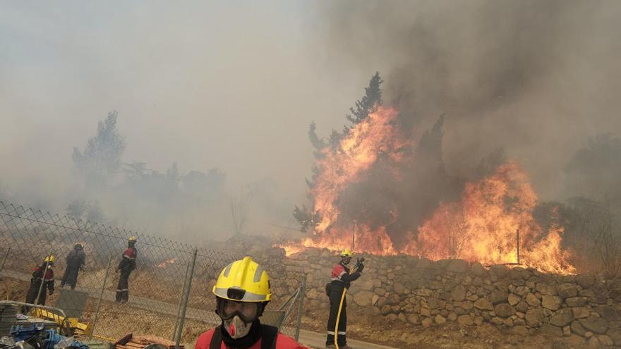 L'incendi del 2012 a la Jonquera, entre els 10 pitjors del segle XXI a Espanya