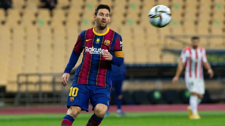 Messi es sancionado con dos partidos y no jugará ante Cornellà y Elche