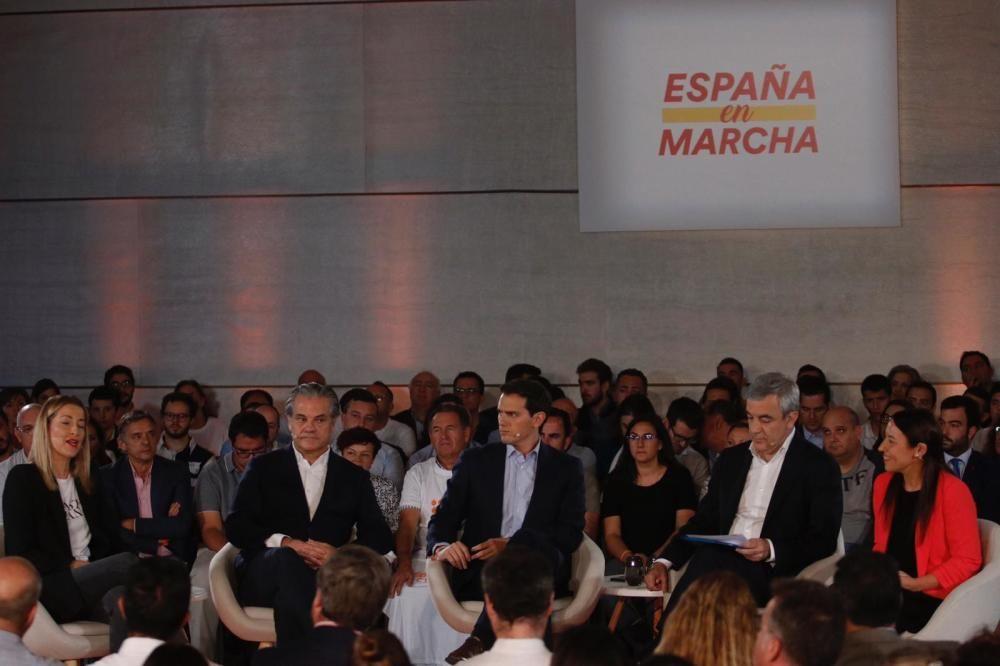 Albert Rivera en Málaga por el 10-N