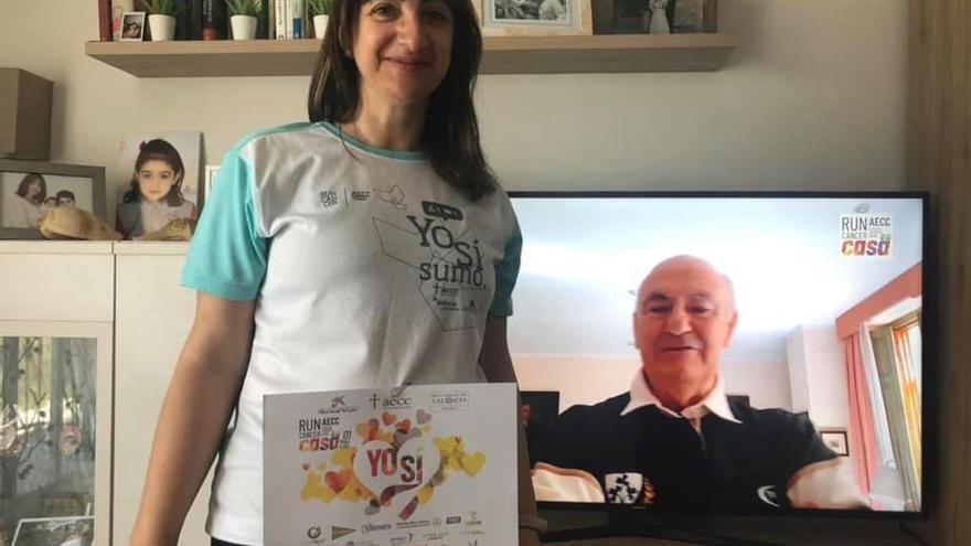 Burjassot vive su primera carrera virtual contra el cáncer con la recaudación de 25.869 euros