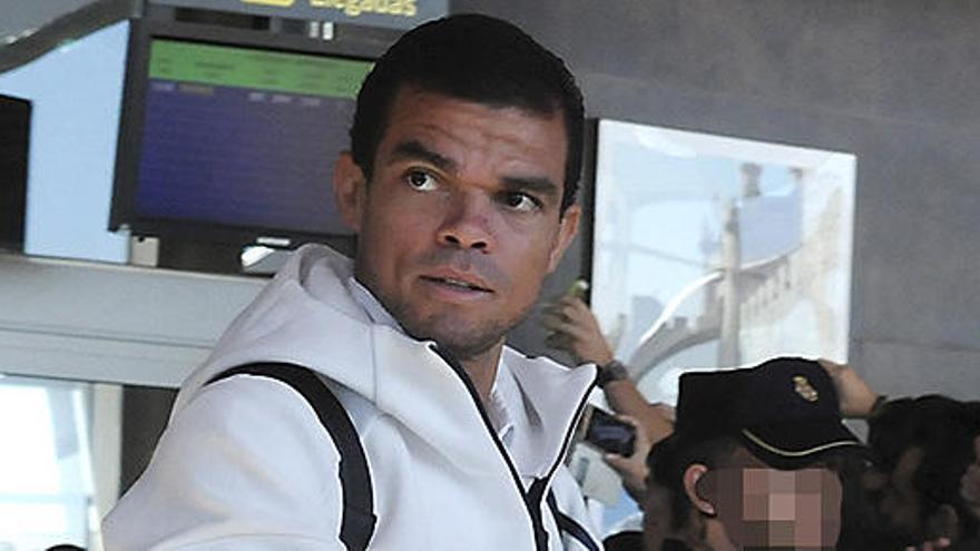 Pepe sufre una lesión en el bíceps femoral y estará un mes de baja