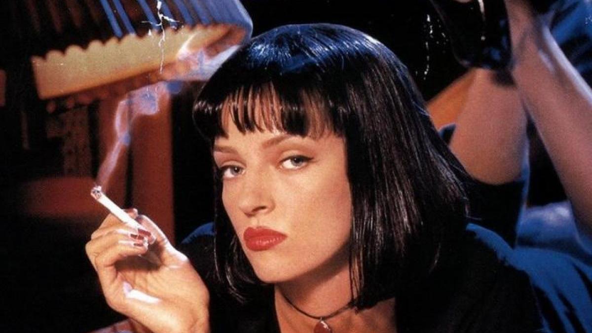 Uma Thurman en 'Pulp Fiction'.