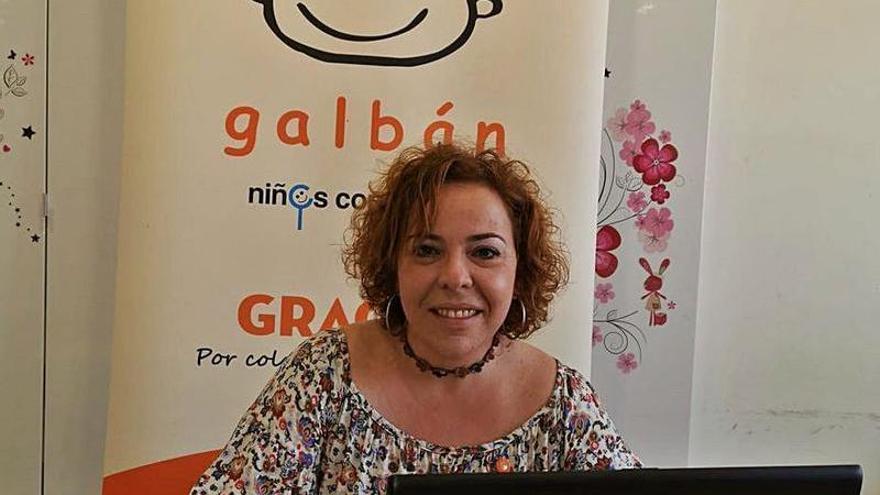 """Eva López, vocal de la asociación Galbán: """"Cuando tienes un niño con cáncer necesitas  el abrazo que no se pudo dar en pandemia"""""""