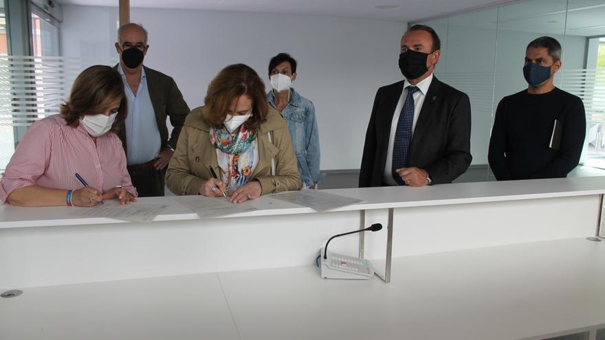 Generalitat recepciona las obras del Centro de Mayores de Benicàssim
