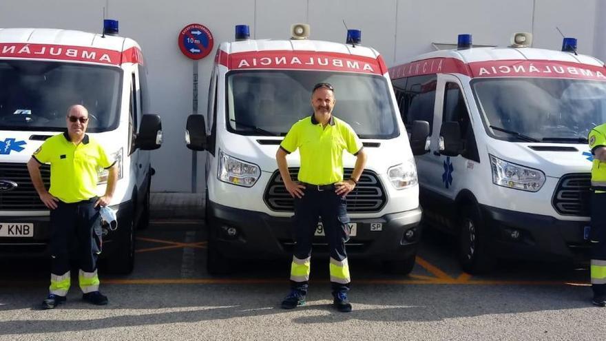 Alboraia cuenta con tres nuevas ambulancias no asistenciales
