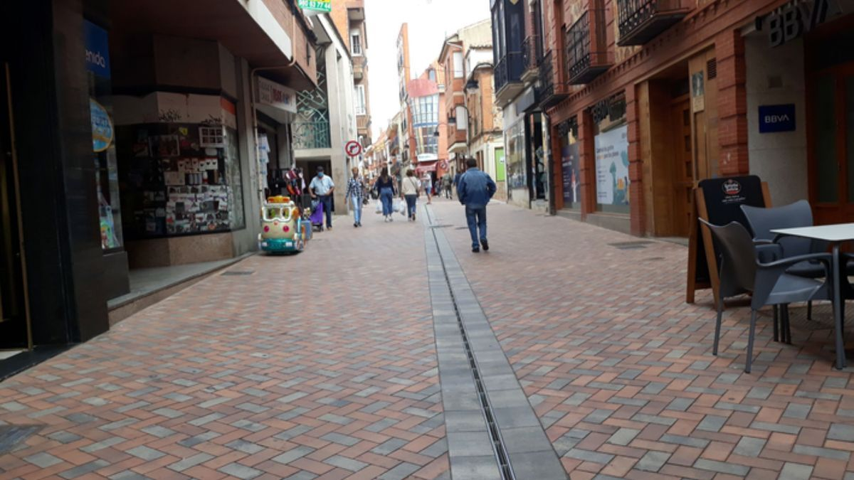 Calle Herreros de Benavente.