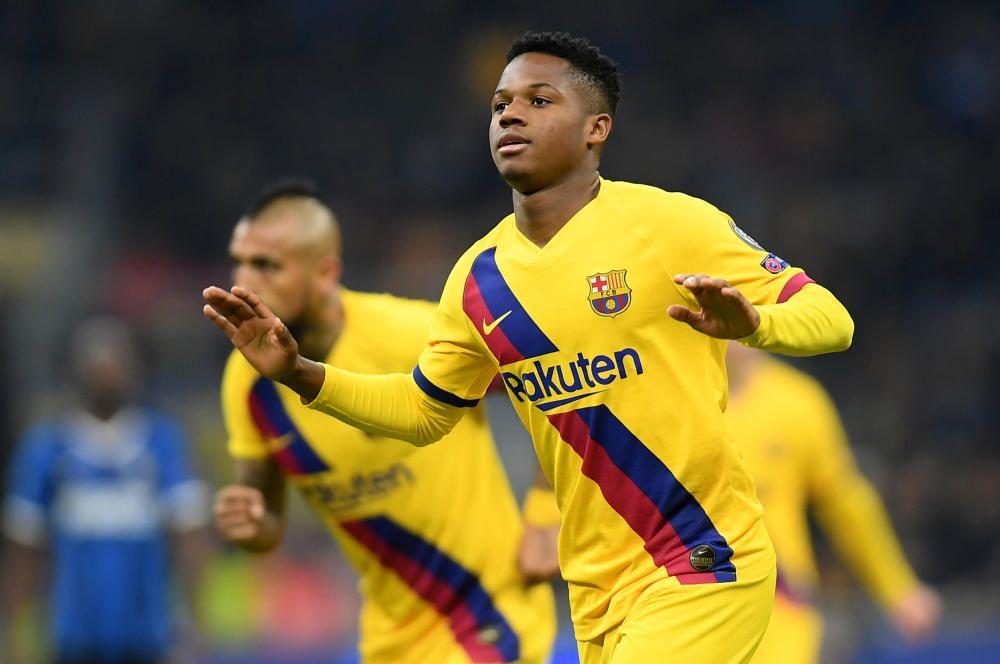 Inter - Barcelona, en imágenes.