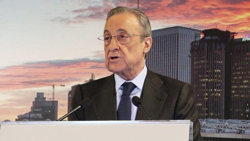 Florentino Pérez certifica el seu sisè mandat al capdavant del Reial Madrid