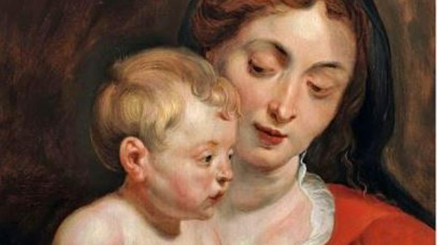 """La """"Virgen de Cumberland""""  de Rubens se vendió en 2010 por 92.400 euros"""