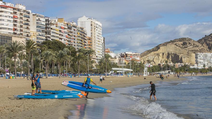 El tiempo en Alicante: anticiclón en el diciembre más cálido de la década