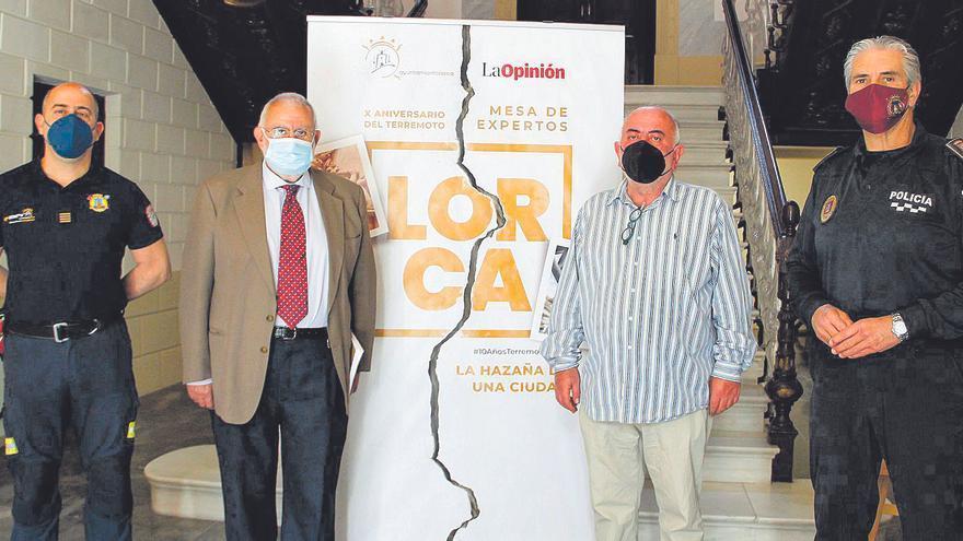 Los expertos muestran su visión de la tragedia y de la reconstrucción de Lorca
