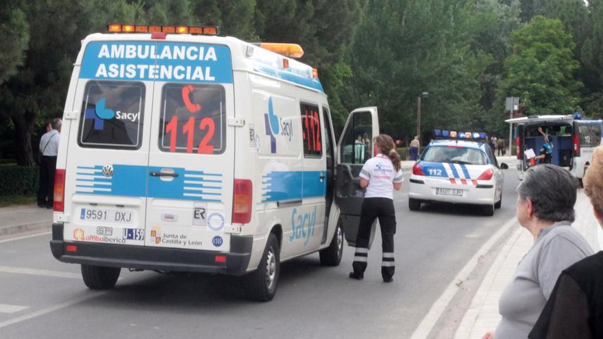 Herido tras salirse su coche y chocar con un árbol en Hornes (Burgos)